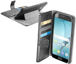 Coque avec rabat Cellularline Book Agenda Adapté pour: Samsung Galaxy A5 (2017) noir