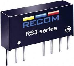 Convertisseur CC/CC pour circuits imprimés RECOM RS3-053.3S/H2 3.3 V 600 mA 3 W Nbr. de sorties: 1 x 1 pc(s)