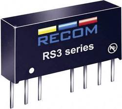 Convertisseur CC/CC pour circuits imprimés RECOM RS3-2405DZ/H3 +5 V, -5 V 300 mA 3 W Nbr. de sorties: 2 x 1 pc(s)
