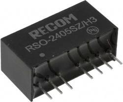 RECOM RSO-2405SZ/H3 Convertisseur CC/CC pour circuits imprimés