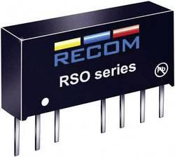 Convertisseur CC/CC pour circuits imprimés RECOM RSO-4812SZ/H3 12 V 83 mA 1 W Nbr. de sorties: 1 x 1 pc(s)