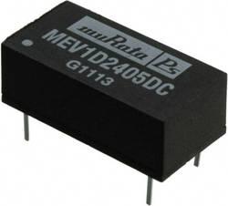 Convertisseur CC/CC pour circuits imprimés Murata Power Solutions MEV1D2405DC +5 V, -5 V 100 mA 1 W Nbr. de sorties: 2