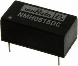 Convertisseur CC/CC pour circuits imprimés Murata Power Solutions NMH0515DC +15 V, -15 V 67 mA 2 W Nbr. de sorties: 2 x