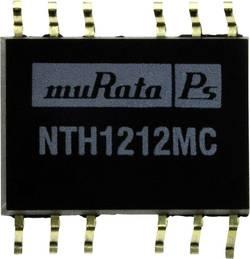 Convertisseur CC/CC CMS Murata Power Solutions NTH1212MC +12 V, -12 V 83 mA 2 W Nbr. de sorties: 2 x 1 pc(s)