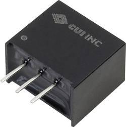 Convertisseur CC/CC pour circuits imprimés CUI INC P7805-Q24-S15-S +15 V, -15 V 500 mA 8 W Nbr. de sorties: 1 x 1 pc(s)