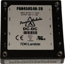 TDK-Lambda PAH450S4828 Convertisseur CC/CC pour circuits imprimés