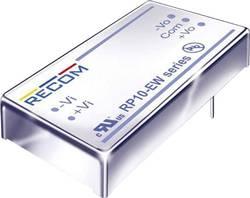 Convertisseur CC/CC pour circuits imprimés RECOM RP10-4812DEW +12 V, -12 V 416 mA 10 W Nbr. de sorties: 2 x 1 pc(s)