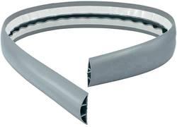 Protège-câbles PVC gris VISO CPB653 Nombre de canaux: 4 Longueur 3000 mm 1 pc(s)