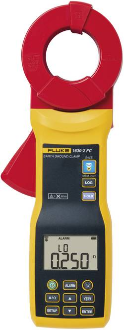 Pince de boucle de terre Fluke 1630-2 FC Etalonné selon d'usine (sans certificat)