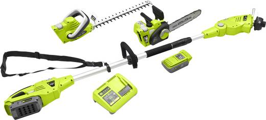 Set d\'outils de jardin sans fil Zipper avec batterie, avec harnais ...