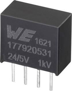 Würth Elektronik 177920531 Convertisseur CC/CC pour circuits imprimés 24 V