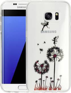 Coque arrière Perlecom Adapté pour: Samsung Galaxy S7 Edge