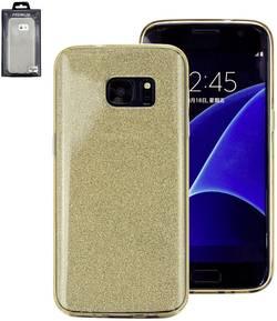 Coque arrière Perlecom Adapté pour: Samsung Galaxy S6 or