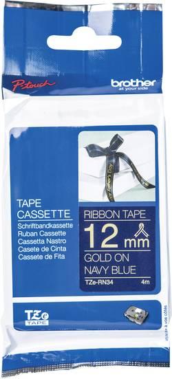 Ruban encreur textile non laminé Brother TZe, TZ TZe-RN34