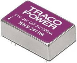 Convertisseur CC/CC pour circuits imprimés TracoPower TEN 5-4812WI Nbr. de sorties: 1 x 48 V/DC 12 V/DC 500 mA 5 W 1 pc(