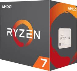 Processeur (CPU) Boxed AMD Ryzen 7 2700X 8 x 3.7 GHz