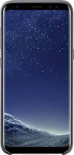 Coque arrière Samsung Silicone Adapté pour: Samsung Galaxy S8 noir