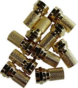 Lot de connecteurs F mâles pour Ø câble: 6 mm BKL Electronic 0403471 à tourner 10 pc(s)