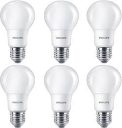 Philips Lighting LED E27 forme standard 8 W=60 W blanc chaud (Ø x L) 60 mm x 110 mm EEC: classe A+ 6 pc(s)