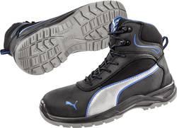 Chaussures montantes de sécurité S3 Taille: 44 PUMA Safety Atomic Mid SRC 633600-44 coloris noir, bleu, argent 1 paire