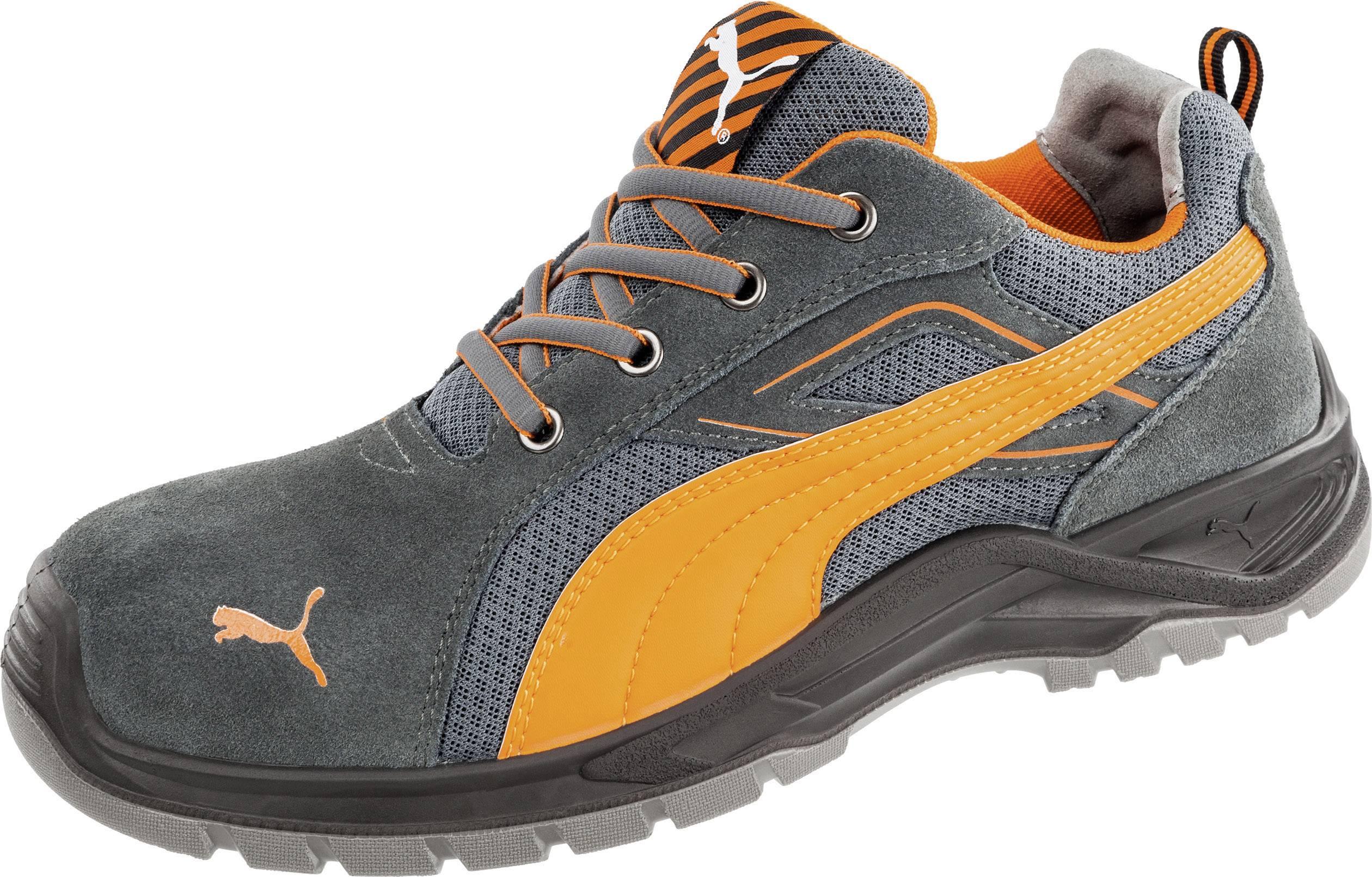 PUMA Safety Omni Orange Low SRC 643620 45 Chaussures de sécurité S1P Taille: 45 noir, orange 1 paire