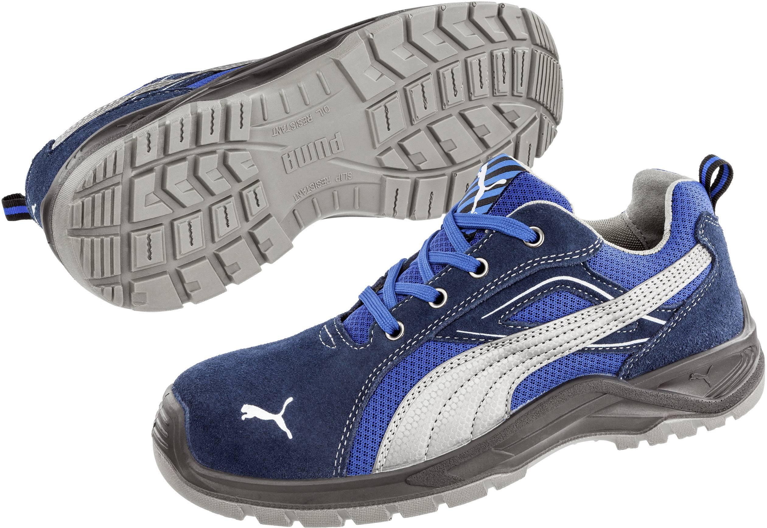 Chaussures de sécurité S1P PUMA Safety Omni Blue Low SRC 643610-42 Taille: 42 bleu, argent 1 paire(s)