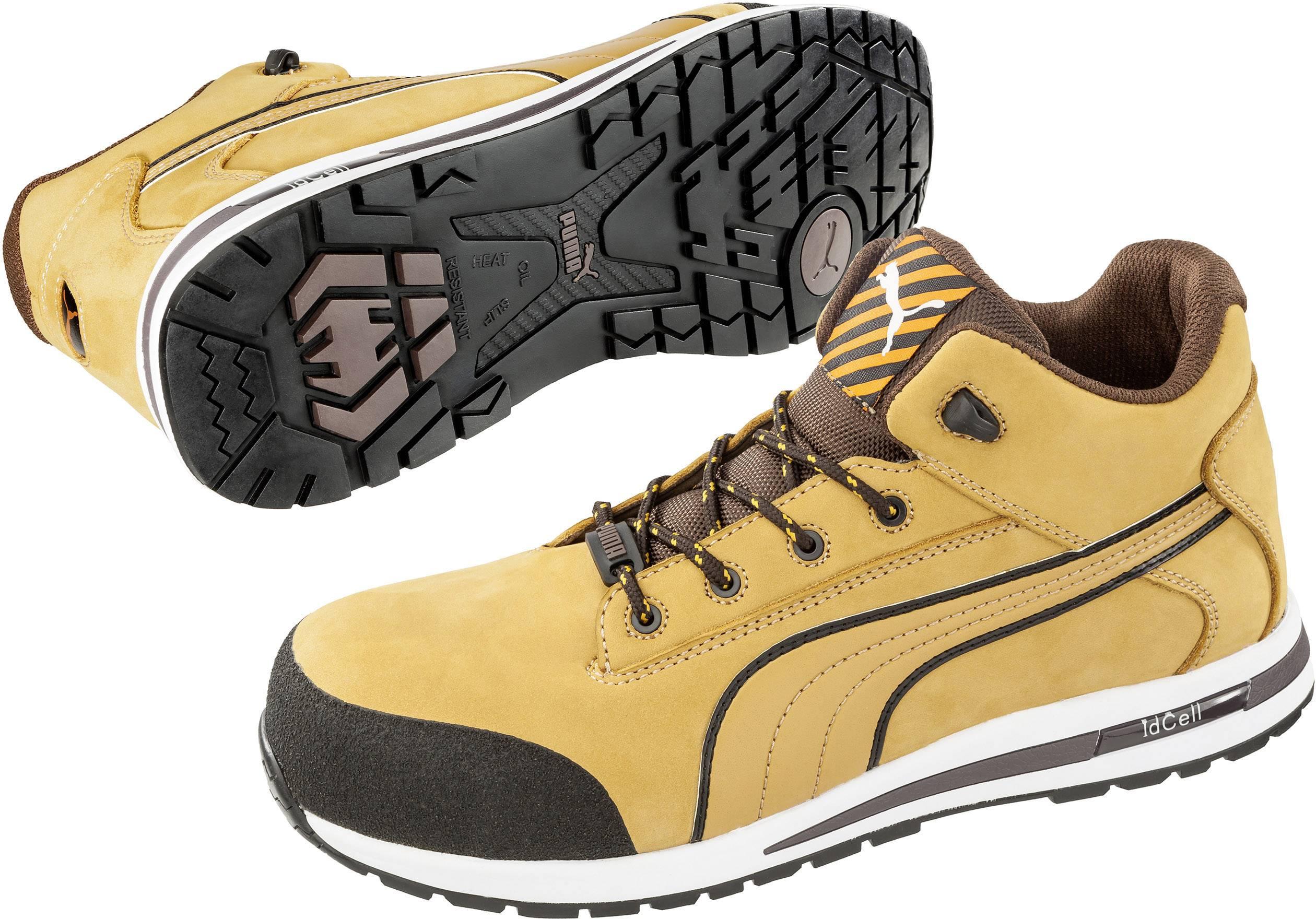 PUMA Safety Dash Wheat Mid HRO SRC 633180 42 Chaussures montantes de sécurité S3 Taille: 42 beige, marron 1 paire