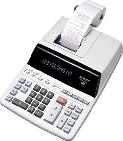 Calculatrice de bureau avec imprimante Sharp EL-2607PG blanc sur secteur