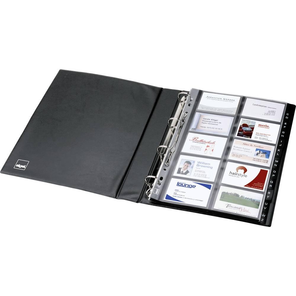 Sigel Classeur Anneaux Pour Cartes De Visite 400 L X H P 270 325