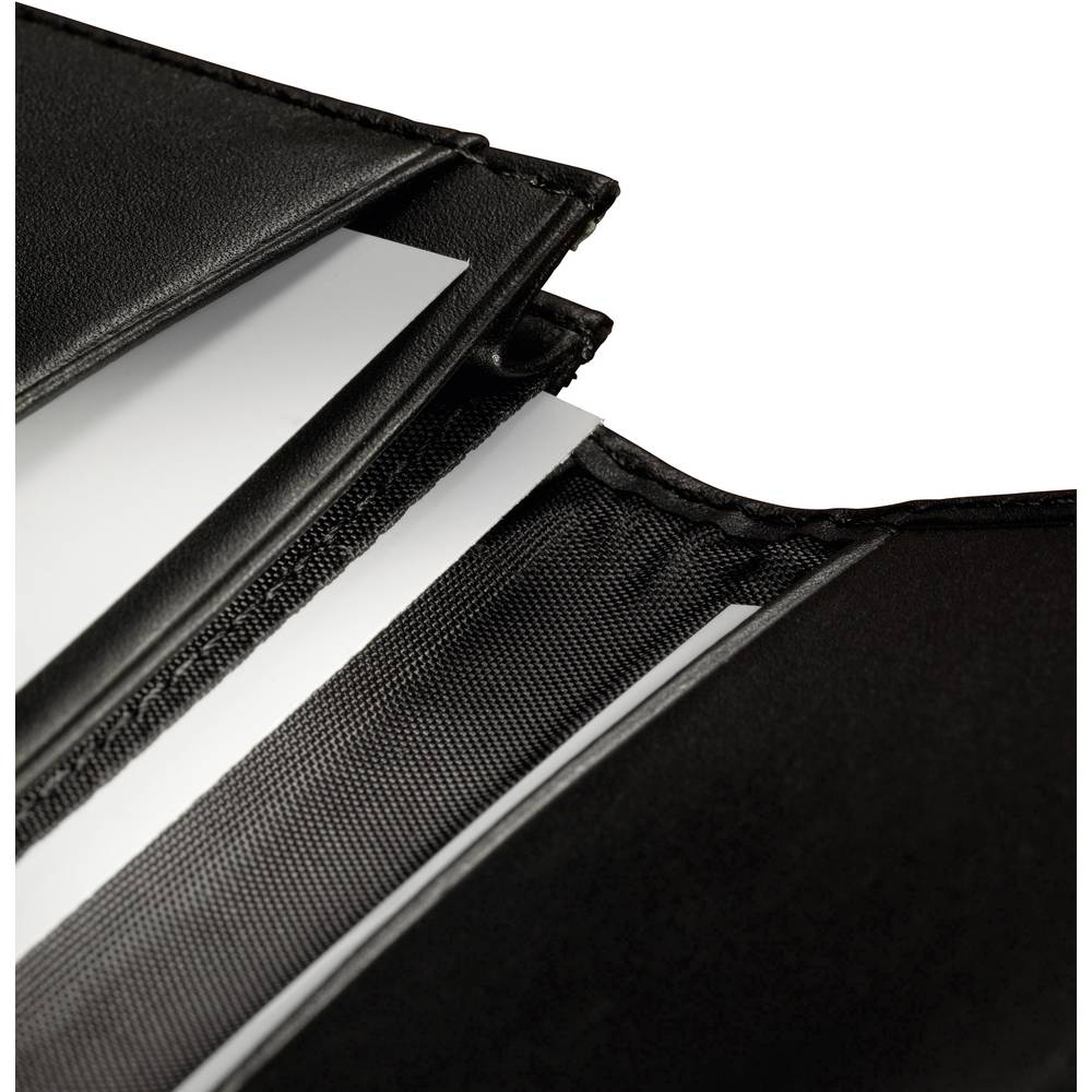 Sigel Tui Cartes De Visite Torino 30 L X H P 105 70 20 Mm Noir Cuir Nappa VZ200