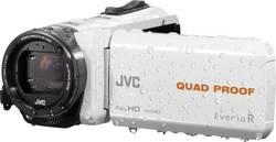 Caméscope 3 pouces JVC GZ-R435WEU 2.5 Mill. pixel blanc