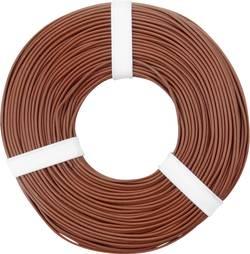 Fil de câblage BELI-BECO L125BR50 1 x 0.25 mm² marron 50 m