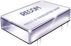 Convertisseur CC/CC pour circuits imprimés RECOM REC7.5-4815DRW/AM Nbr. de sorties: 2 x 48 V/DC 15 V/DC, -15 V/DC 250 mA