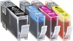 Basetech Encre remplace HP 364, 364XL compatible pack bundle noir, cyan, magenta, jaune BTH62 1712,0005-126