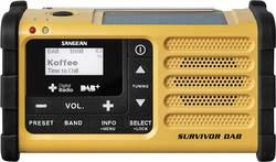 Sangean Survivor (MMR-88) DAB+ Radio pour extérieur DAB+, USB, FM