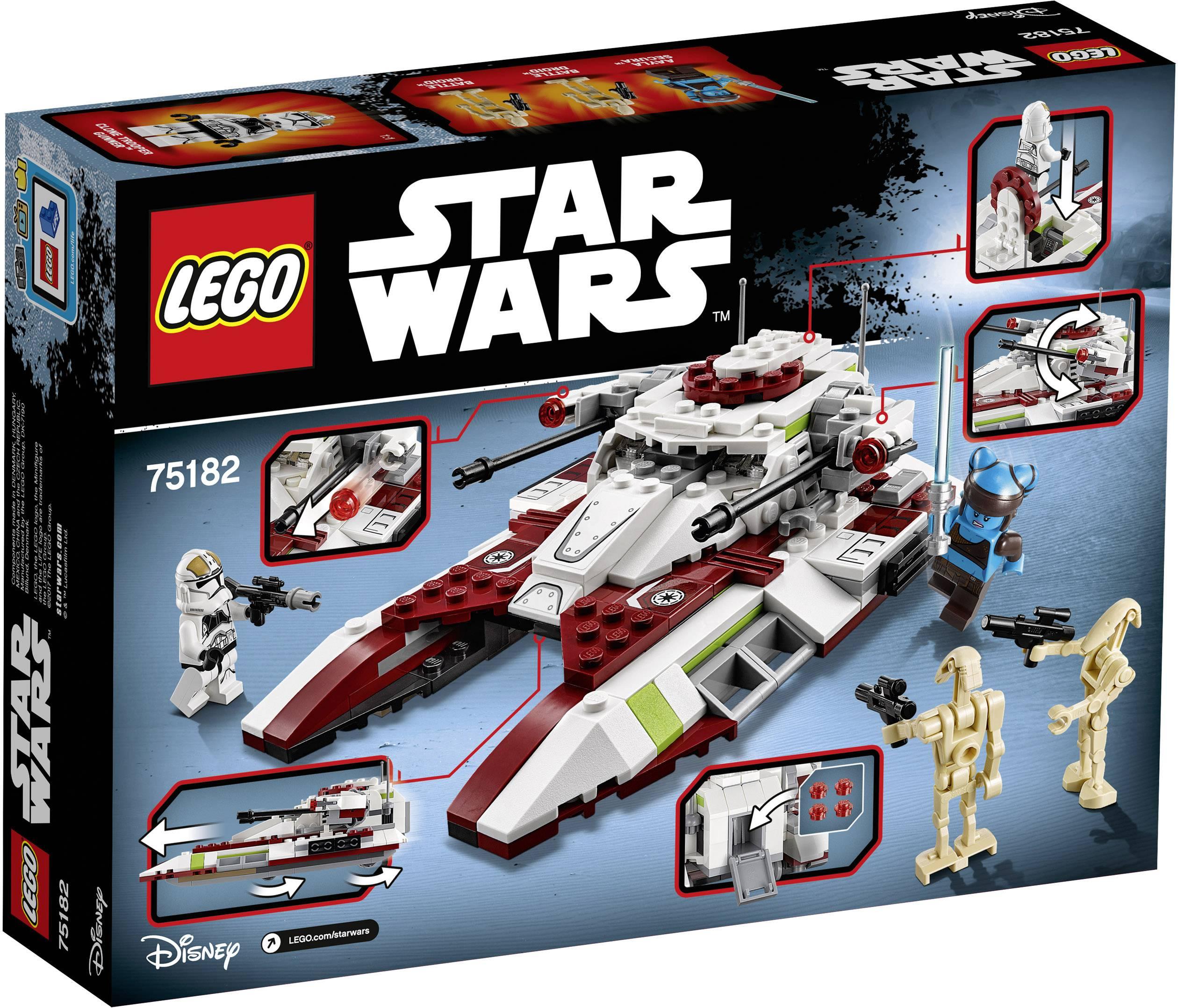 Lego® Réservoir Consulté Wars Fighter Republic Star 80PnOkwX
