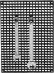 Crochet métallique 100 mm , 10 pièces