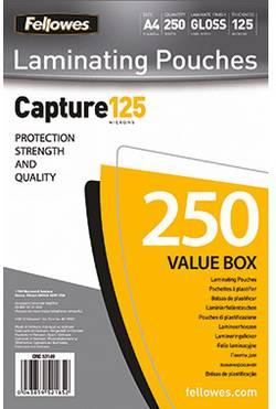 Pochette de plastification Fellowes 5314903 125 micron brillant DIN A4 250 pc(s)