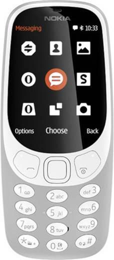 t l phone portable double sim 2 4 pouces nokia 3310 gris. Black Bedroom Furniture Sets. Home Design Ideas