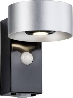 Applique murale LED extérieure avec détecteur de mouvements Paulmann Cone 79681 LED intégrée anthracite, argent