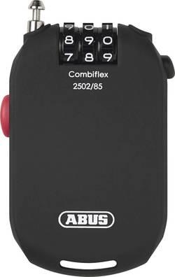 Câble antivol ABUS 2502/85 noir fermeture à combinaison