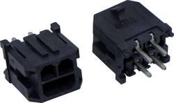 Barrette mâle (standard) série Micro-Hi BellWether 70094-0208 Barrette mâle droite Nbr total de pôles 2 Pas: 3 mm 1 pc(s