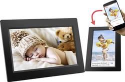 Cadre photo numérique Wi-Fi 25.7 cm 10.1 pouces Denver PFF-1010 Black 1280 x 800 pixels 8 Go noir