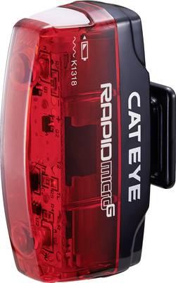 Feu arrière pour vélo Cateye Rapid Micro G TL-LD 620G LED unicolore à batterie rouge, noir
