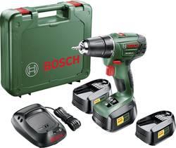 Perceuse-visseuse sans fil Bosch Home and Garden 06039A3102 18 V 1.5 Ah Li-Ion + 3 batteries, + mallette