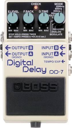 Pédale d'effet pour guitare delay BOSS DD-7