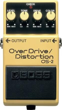 Pédale d'effet pour guitare overdrive, distortion BOSS OS-2