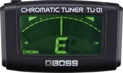 Accordeur de guitare BOSS TU-01 noir