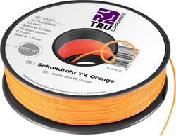 Fil de câblage Yv TRU COMPONENTS YV 1567888 1 x 0.20 mm² rouge 25 m