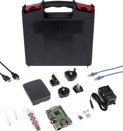 Raspberry Pi 3 Modèle B avec logiciel, avec boîtier Raspberry Pi® R3-Makey-Set 1 Go 1 pc(s)